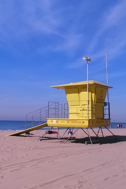 BarcelonaBeachBreaks life guard